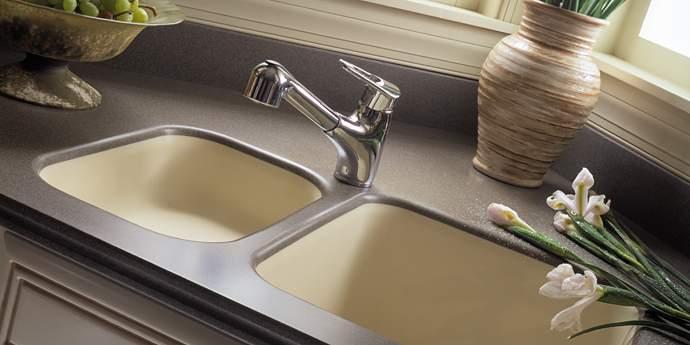 Corian Kitchen Sink Model