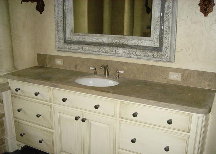 Lagos Azul Limestone Vanity Top 927554